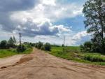 6. Въезд в деревню Хвостово (слева от главной дороги)